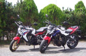 Honda CB 500 F en de Honda CB 650 F